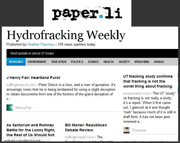 hydrofracking paper.li